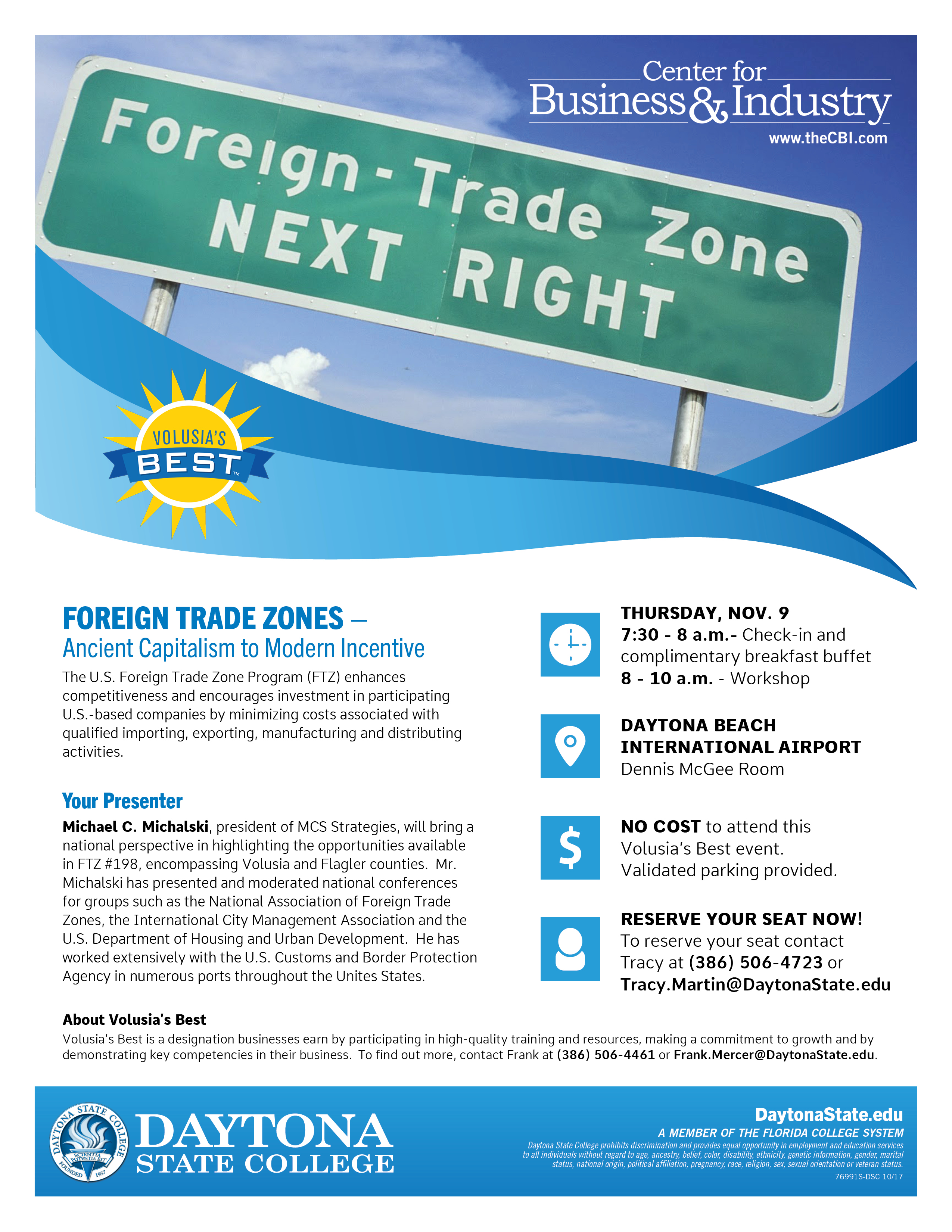 Foreign Trade Zone - FREE Workshop | Edgewater Florida